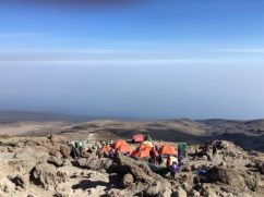 Barafu camp, basecamp voor de top