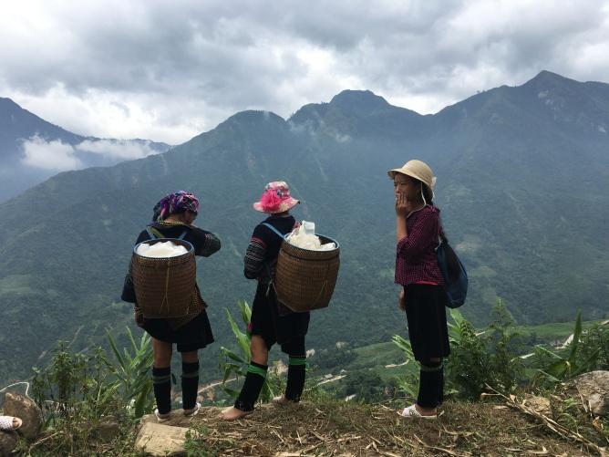 Trekking in Noord-Vietnam, Sapa