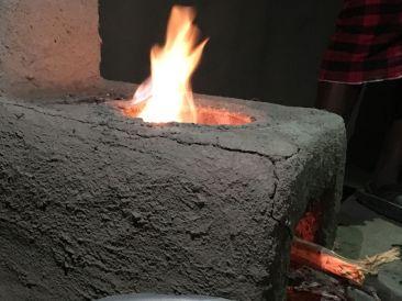clean cookstove bij maasai