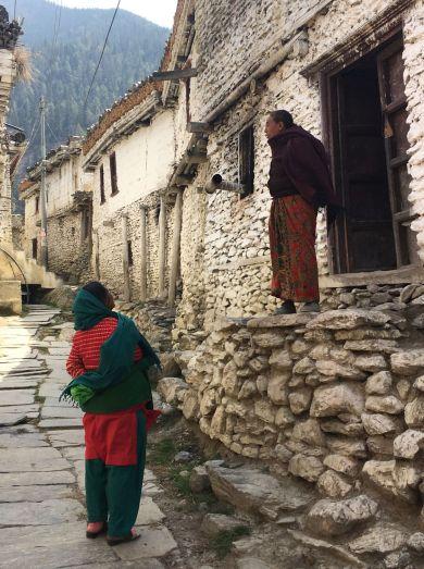 dorpje tijdens dag 3