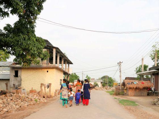 Tharu dorpje chitwan