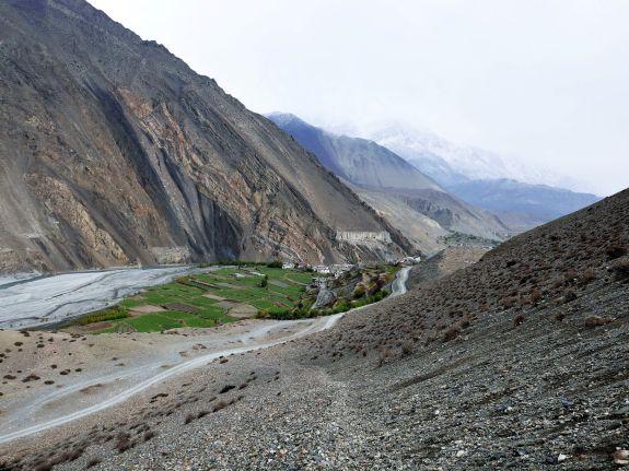 Vallei Nepal trekking