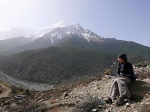uitzicht trekking nepal