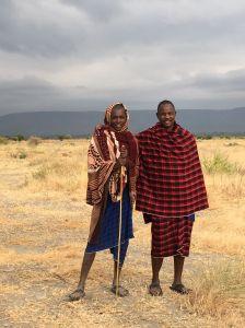 Maasai dorpsverantwoordelijken
