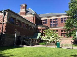 Harvard yard historisch gebouw Boston