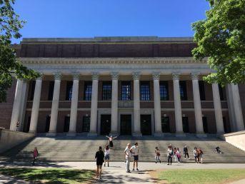 Widener bibliotheek Harvard