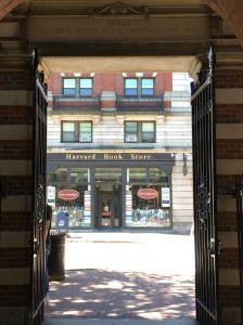 Boekenwinkel Harvard yard