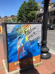 Harvard square Boston