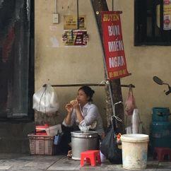 hanoi straatverkoper