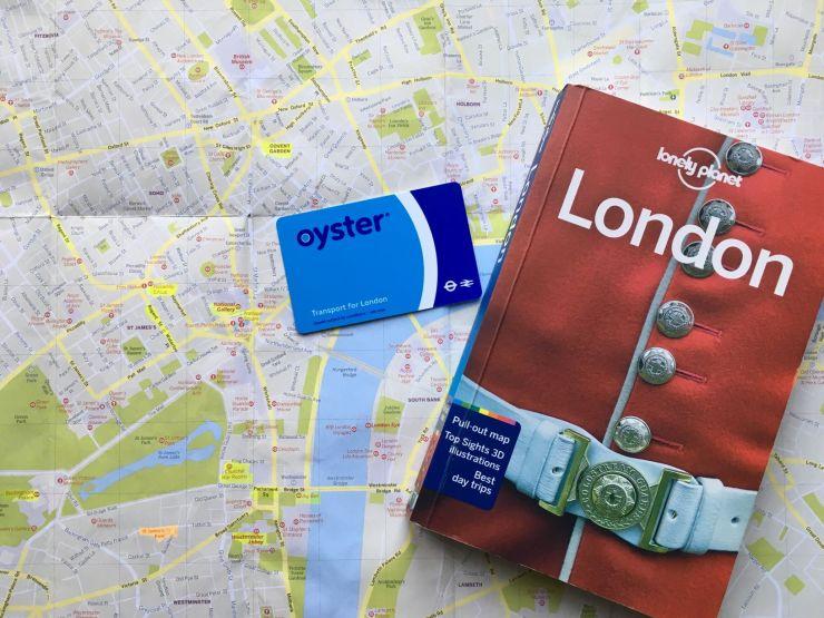 Londen reisvoorbereiding