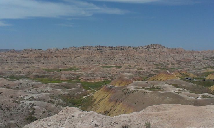 USA Badlands