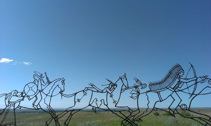 USA Little bighorn Billings