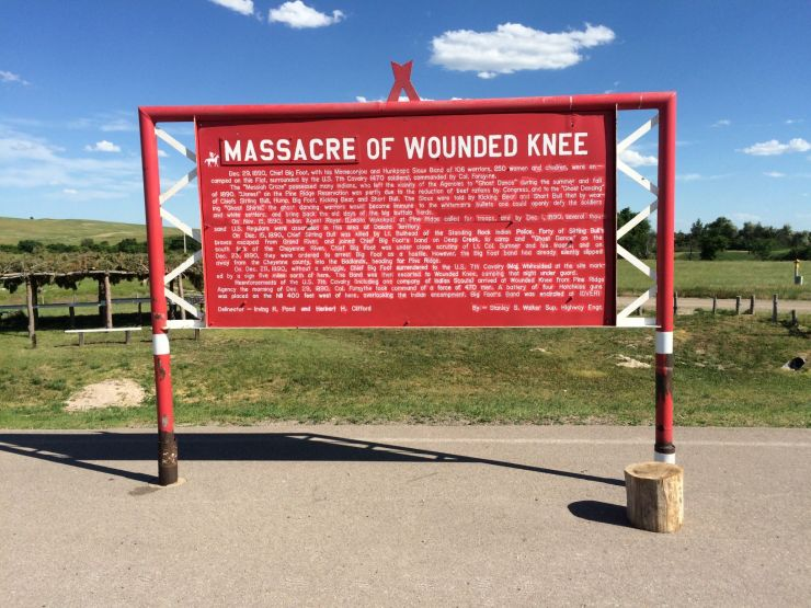 USA Wounded Knee massacre