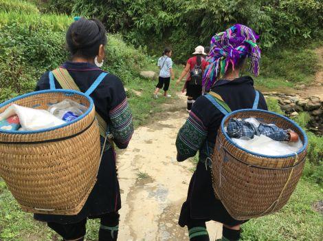trekking sapa noord vietnam
