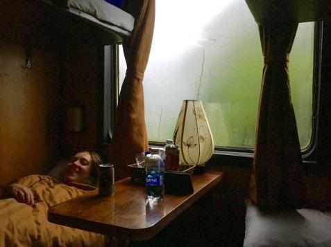 Vietnam nachttrein sapa hanoi