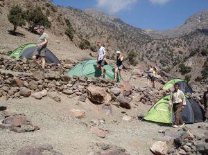 marokko atlas trekking tentjes