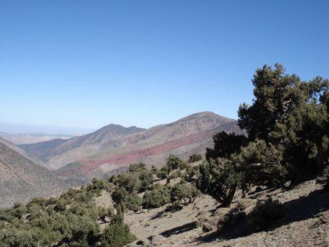 marokko atlas gebergte trekking