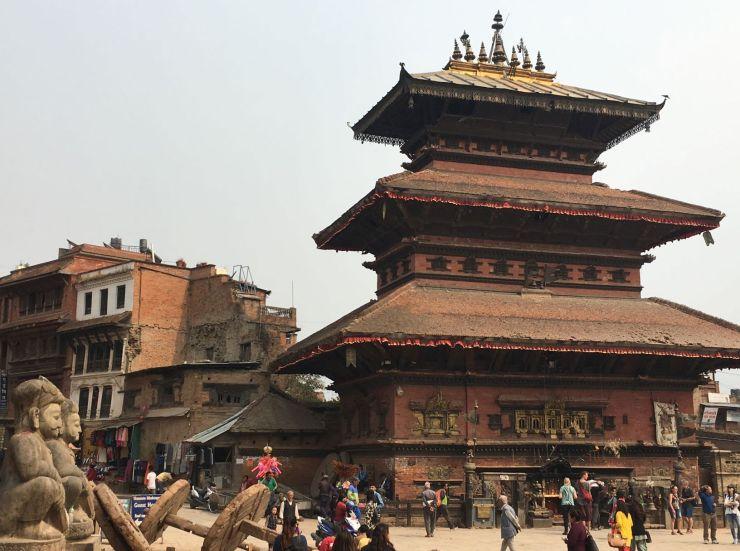 Nepal koningsteden Kathmandu