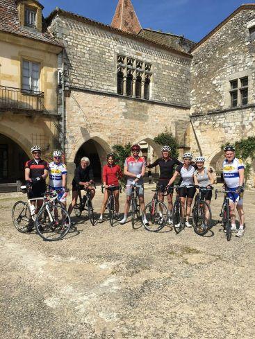 Dordogne frankrijk fietsen