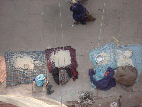 bedelaars Varanasi