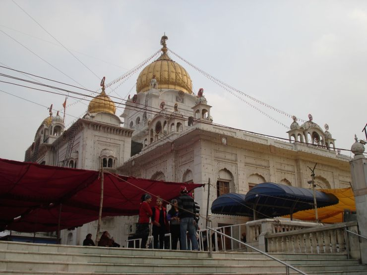 delhi sikh tempel