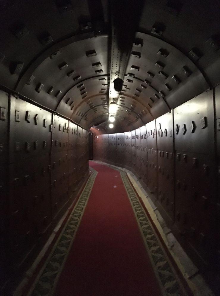 Bunker 42 koude oorlogmuseum moskou