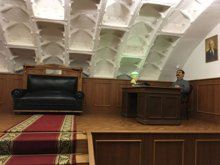 Bunker 42 kabinet stalin