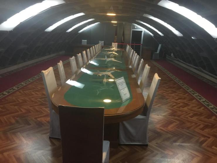 bunker vergaderzaal