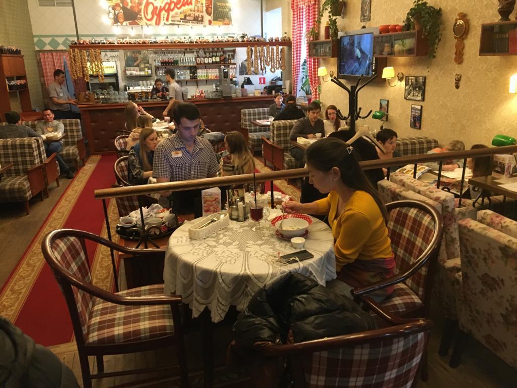 restaurant moskou