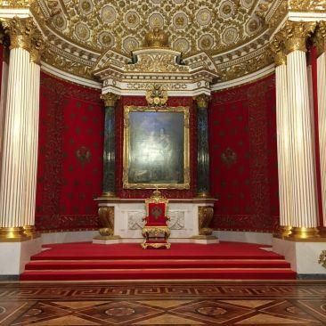 hermitage sint petersburg troon tsaren