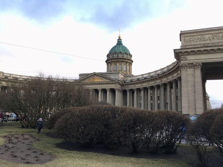 Kazan kathedraal nevsky prospect