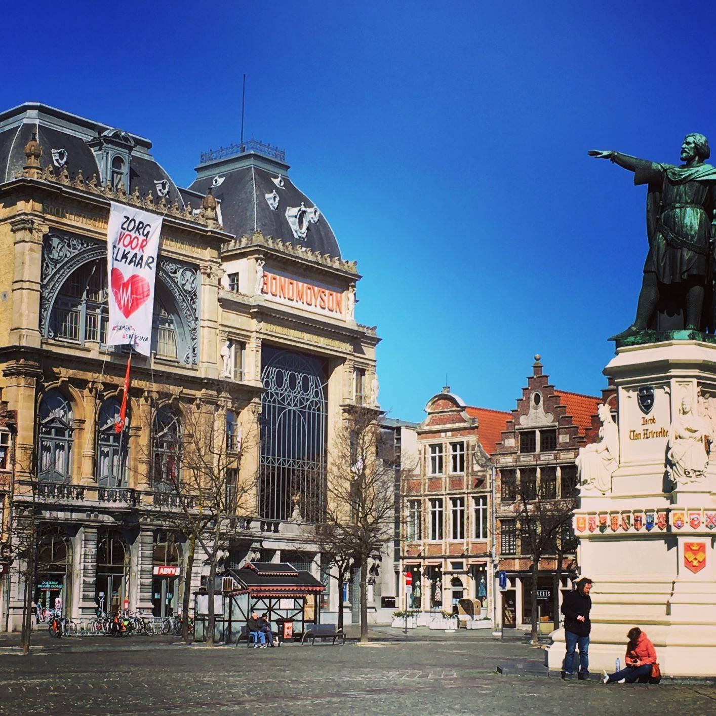 Gent vrijdagmarkt
