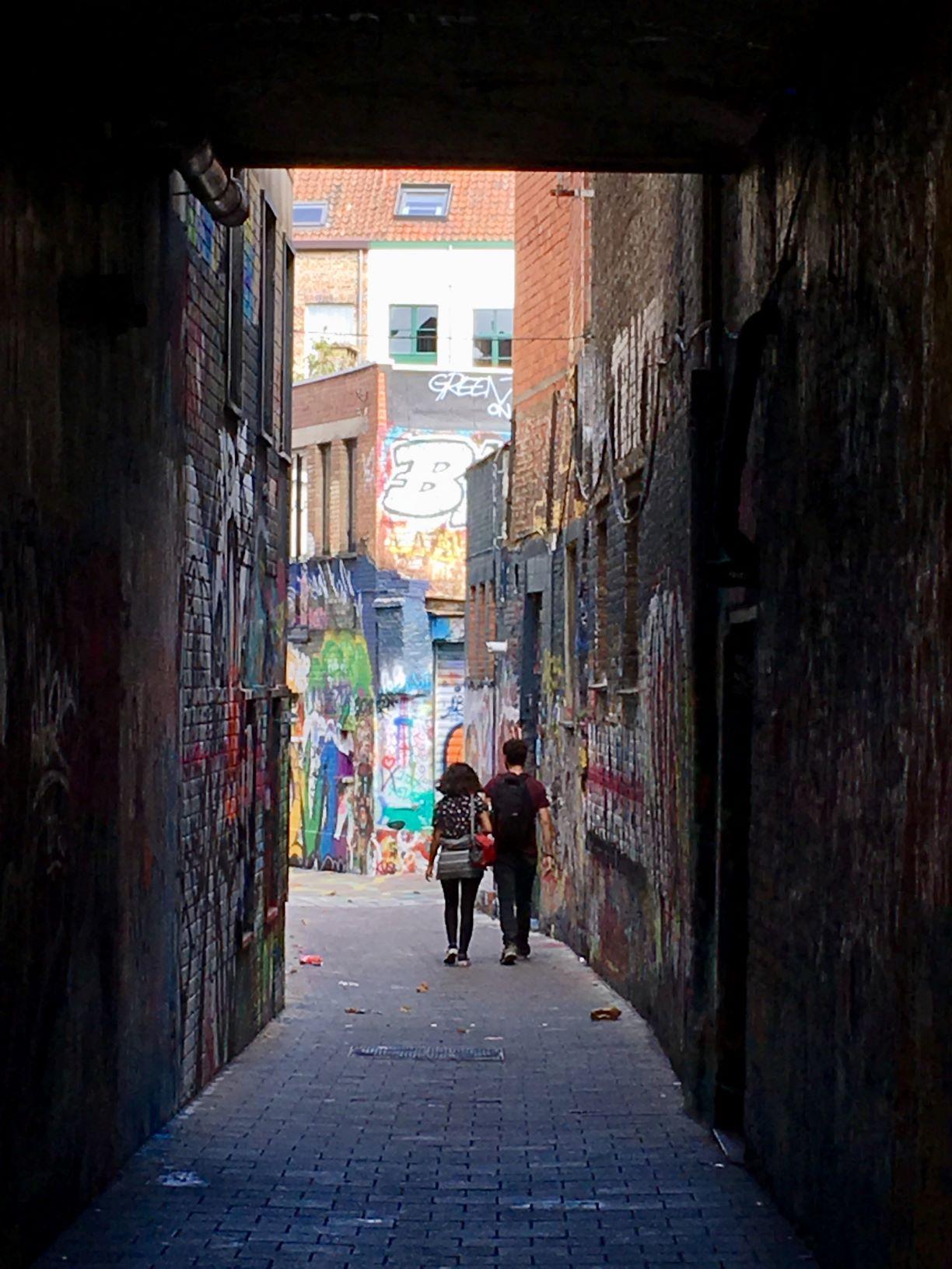 Gent graffitistraatje