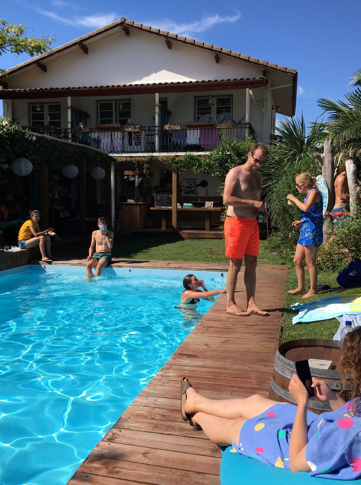 zwembad pura vida lodge