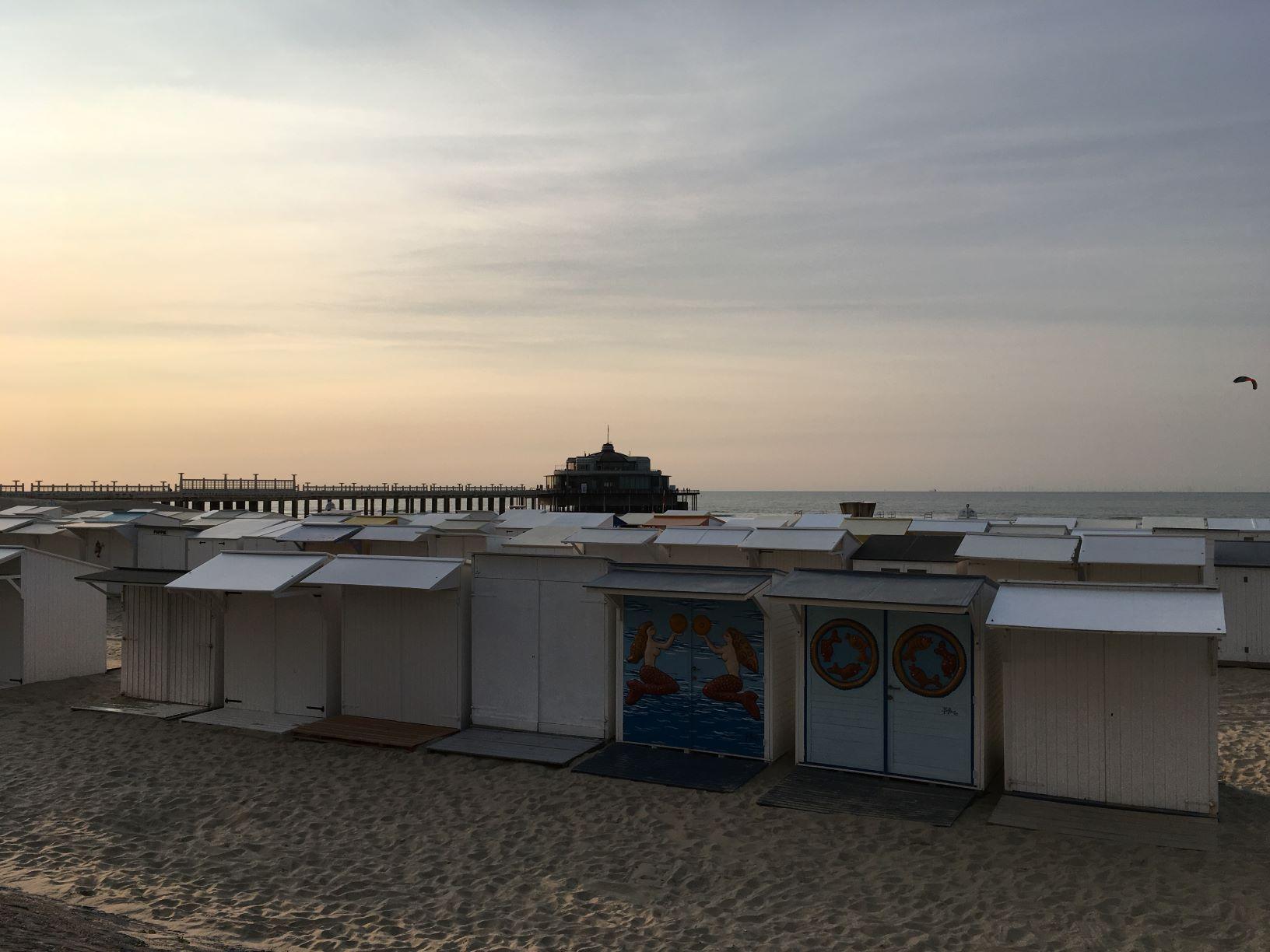 strand blankenberge cabines